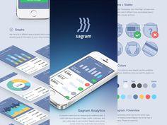 Sagram Behance Case Study by Jan Losert