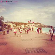 "Nice ""snapshot"" promenade des anglais"