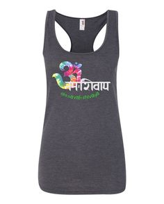 $15 om namah shivaya tank by namasteoften on Etsy   lots more where this came from