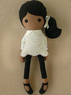 Custom Listing for Joanne Fabric Doll Rag Doll by rovingovine