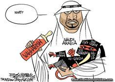 Saudi Arabia, the masters of Islamic terror around the world