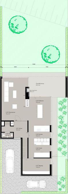 Ontwerp voor een vrijstaande villa in het nieuwbouwplan Steeleiland Roerdelta te Roermond. Voor meer informatie over het plangebied klik op