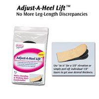 6582 Lift Adjust-A Heel Women 8-10; Men 6-8 Med Universal Par # 6582 Qty of 1 Unit by Pedifix. $8.00. This item is not returnable once sealed packaging has been opened.. One per package.. Takes pressure off sore Achilles' tendon and calf muscle. Actual product packaging and materials may contain more and different information than what is shown on our website. We recommend that you do not rely solely on the information presented and that you always read labels, warnings, and...