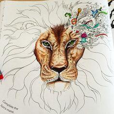@Meesharose from the Animorphia colouring book