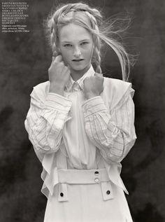 Jean Campbell by Bruce Weber for Vogue UK October 2013 7