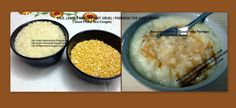 ANGLO-INDIAN RECIPES: RICE, LENTILS AND COCONUT GRUEL / PORRIDGE ( Good Friday Rice Congee)