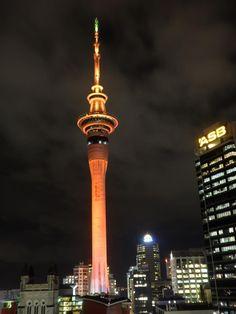 Orange Sky Tower by Anil Phore.