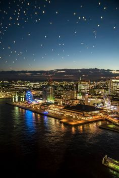 Night view of Kobe, Japan | Luo Fai 神戸ハーバーランド