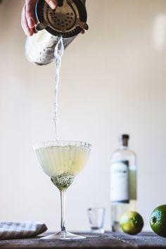 Green Chile Cocktail | HonestlyYUM