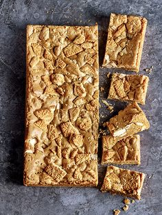 Ever thought of adding custard creams to your blondie mixture? It's genius! Have a go this weekend and let us know how you get on (@olivemagazine).