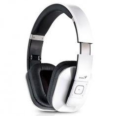AURICULAR BLUETOOTH HS-970BT NNFC (WHITE) Over Ear Headphones, Headset, Bluetooth, Ear Phones, Headphones, Blue Tooth, Helmet