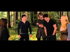 The Twilight Saga Breaking Dawn Part 2 - Shield Training.  Emmet: DUDE YOUR NOT MOTIVATING HER!  Garrett: *smiles*  Edward: WOULD YOU LIKE TO TRY????  Garett and Emmett: *step back*
