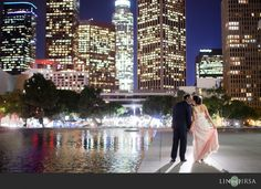 Downtown Los Angeles Engagement | Sam and Erika
