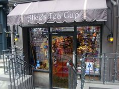 Alice's Tea Cup in NYC- Alice in Wonderland theme.