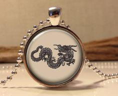 Chinese Dragon Jewelry Dragon charm by Hadaskolcollection on Etsy, $12.95