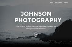 Johnson Photography Website