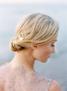 The Wild Rose Accessories Lily of the valley bridal hairpin, bridal accessory, hair accessory  Photo Isabelle Hesselberg www.2brides.se