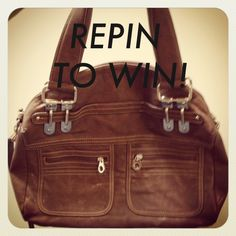 what a perfect bag! ONE HOUR! 10 REPINS! ONE WINNER!