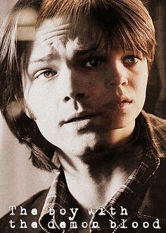 Sam Winchester- The boy with the Demon Blood by ~SPN-Destiel on deviantART