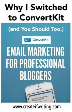 ConvertKit is THE email service provider to use. The ease of Mailchimp with advanced features like tagging & automation. With a fantastic affiliate program you could get paid for using email.