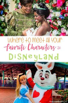 to Find Your Favorite Characters at Disneyland Resort Meeting characters and filling up your autograph book is a MUST do at Disney parks! Don't miss this guide to meeting all your favorite characters at Disneyland Resort! Disneyland Secrets, Disneyland Vacation, Disney Vacations, Disneyland Birthday, Disneyland Photos, Family Vacations, Cruise Vacation, Family Travel, Disney World Tips And Tricks