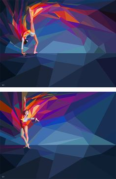 2012 Olympic Games Illustrations by Charis Tsevis | Inspiration Grid | Design Inspiration