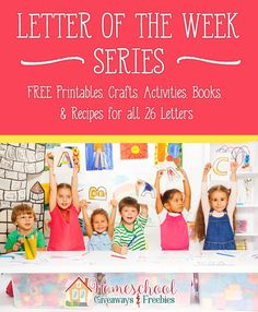 Check out the amazing resources for teaching each letter of the alphabet - including FREE printables, crafts, activities, books & recipes for all 26 letters!! :: www.homeschoolgiveaways.com