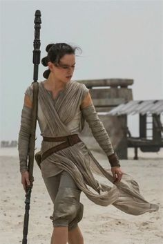Photo of Daisy Ridley from Star Wars Episode VII: The Force Awakens