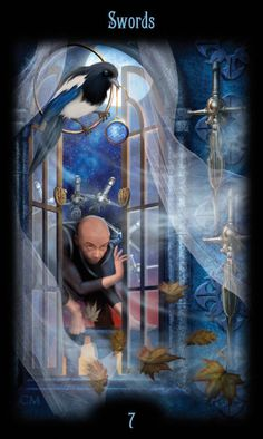 Card of the Day – 7 of Swords – Thursday, July 12, 2018 « Tarot by Cecelia