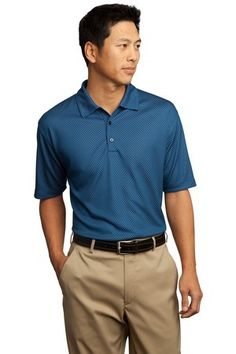 147f2c1f7 Nike golf Dri-fit UV patterned sport shirt - personalize as a great gift to  clients or work attire for the whole office!