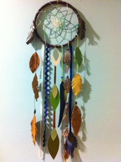 #Dreamcatcher for a boys' room by Rachael Rice. Get yours at http://rachaelrice.com/art/custom-orders/