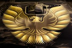"""The intimidating """"flaming chicken"""" 1979 Trans Am Hood"""
