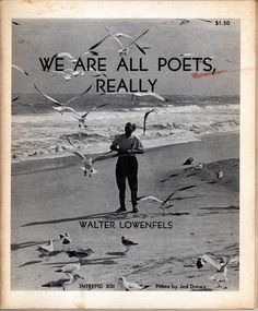 we are all poets, really
