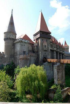 Hunedoara Castle, Hunedoara, Romania by costinul_ala