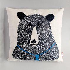 'Mr Bear' Cushion cover