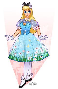 Sunset Dragon is creating Cosplay Designs Disney Princess Fashion, Disney Princess Pictures, Disney Princess Art, Disney Princess Dresses, Princess Alice, Disney Dresses, Disney Pictures, Disney Outfits, Disney Style
