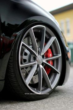 Awesome wheel and brake combo!