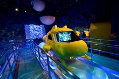 AV System Integration for Dark Ride Attraction 'Deep Sea Odyssey' @ Chimelong Ocean Kingdom, Zhuhai (China) // www.at Lighting Control System, Digital Projection, Parking Design, Ocean Themes, Carnivals, Amusement Parks, Deep Sea, Dark, Travel