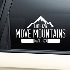 The Mountains Are Calling Vinyl Sticker Vinyl Decal Outdoor - Vinyl window clings for cars