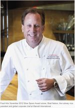 Marriott's Chef Brad Nelson Wins Food Arts Silver Spoon Award