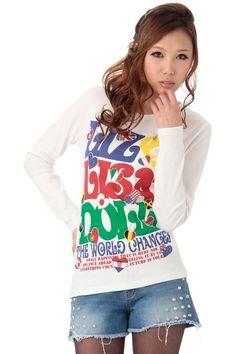 LIZ LISA doll(リズリサドール)国旗柄ロンT