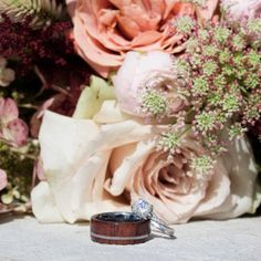 Gibeon Meteorite Wedding Band With Whiskey Barrel Sleeve Unique Wedding Bands, Wedding Men, Whisky, Meteorite Wedding Band, Gibeon Meteorite, Inexpensive Wedding Venues, Unique Colors, Rings For Men, Etsy