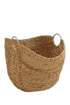 "Seagrass Woven 19"" Basket"