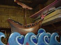 "pirate theater set design | The Pirates of Penzance"" at the Naples Dinner Theatre Jan. 2004."