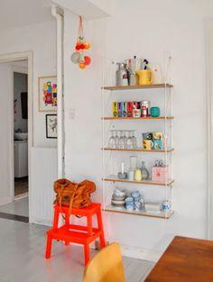 El taburete escalera BEKVÄM, genial en cualquier rincón! | Decorar tu casa es facilisimo.com