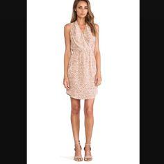 Rebecca Taylor Leopard Print Silk Dress NWT Gorgeous Rebecca Taylor leopard  print dress in