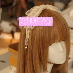 Harajuku Lace Bow Headband SD00317