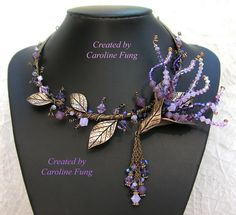 Jewelry journey of Caroline Fung | Beads Magic - This woman is very talented! You should check out her website!
