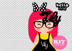 Créer un accroche porte- Tuto Kit créatif  Hello Lily Doll Par Monsieur ...