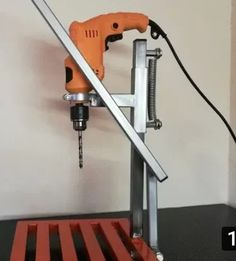 😲😲 Machine for bending of metal bars - Famous Tutorial and Ideas Diy Welding, Welding Tools, Welding Projects, Woodworking Tools, Homemade Tools, Diy Tools, Space Saving Furniture, Diy Furniture, Drill Press Diy
